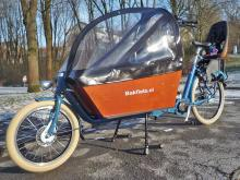 Bakfiets im Winter